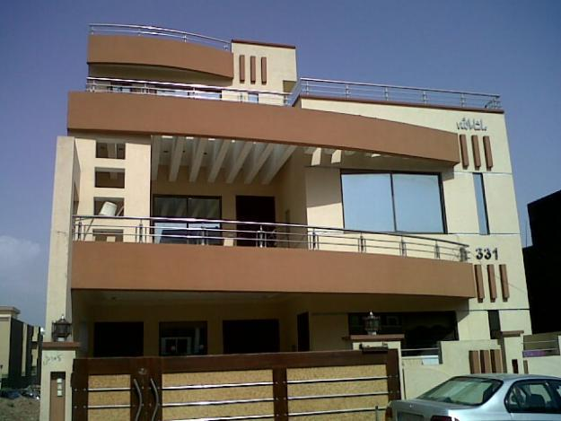 Beautiful houses pictures in islamabad house pictures for Beautiful modern homes for sale
